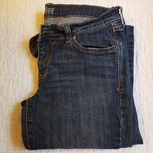 Old Navy Diva dark wash skinny jeans